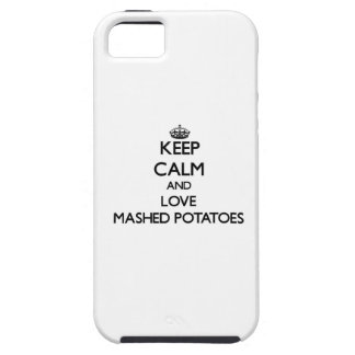 Behållalugn och kärlek mosade potatisar iPhone 5 skal