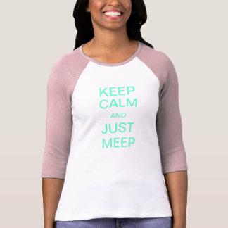Behållalugn- och Meep utslagsplats T-shirt