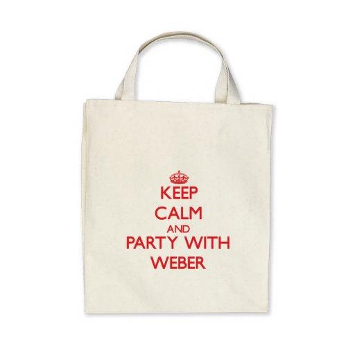 Behållalugn och party med Weber Tote Bag
