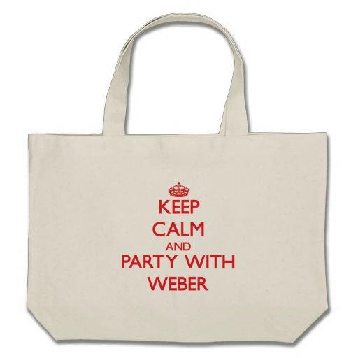 Behållalugn och party med Weber Kasse