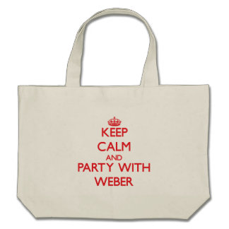 Behållalugn och party med Weber Tote Bags