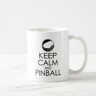 Behållalugn och Pinballmugg Kaffemugg