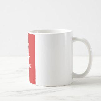 Behållalugn och pudel på kaffemugg