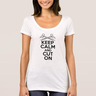 Behållalugn och snitt på t-shirt