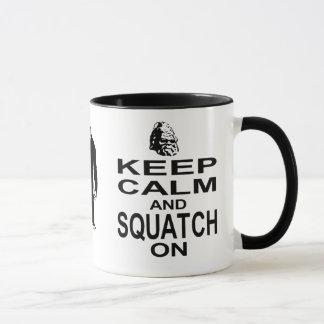 Behållalugn och Squatch på Mugg
