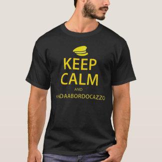 Behållalugn och Vada en Bordo Cazzo T-shirts