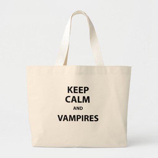 Behållalugn och vampyrer! tygkasse