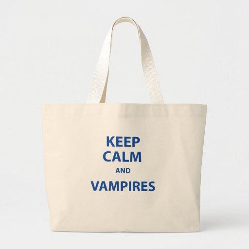 Behållalugn och vampyrer! tygkassar