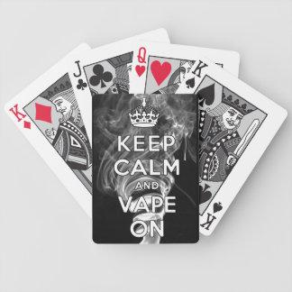 Behållalugn och Vape på Spelkort
