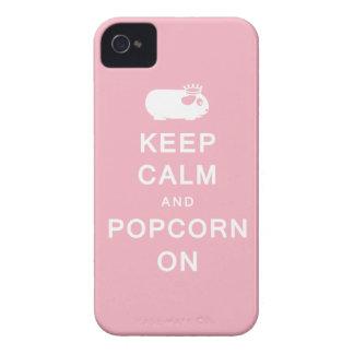 Behållalugn & Popcorn på iPhone 4 Hud