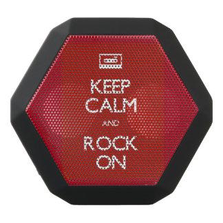 Behållalugn & sten på den Bluetooth högtalaren Svart Bluetooth Högtalare