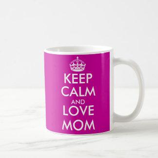 Behållalugnmugg för för mors daggåva för mamma | vit mugg