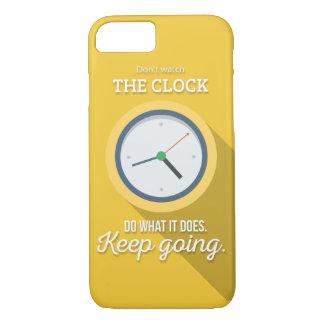 Behållan som går gör inte klockan ta tid pågulten
