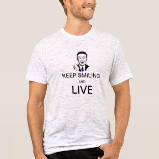 Behållan som ler och, bor tshirts