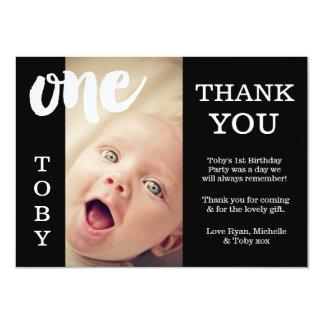 Behandla som ett barn för födelsedagtack för 11,4 x 15,9 cm inbjudningskort