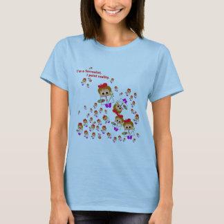 """Behandla som ett barn I�m surrealistiska"" damer Tee Shirt"