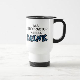 Behöv en drink - kiropraktor resemugg