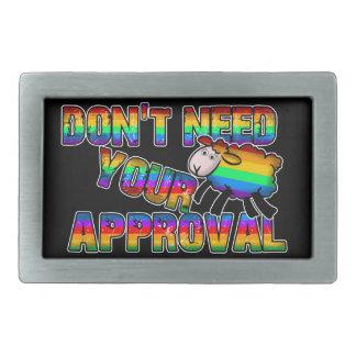 Behöv inte ditt godkännande