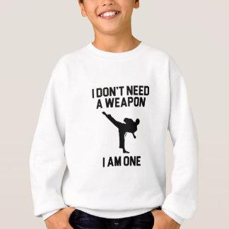 Behöv inte ett vapen t-shirt