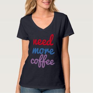 behöv mer för nattuggla för kaffe rolig tröja