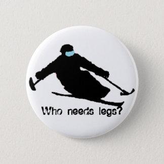 Behöver vem ben? standard knapp rund 5.7 cm