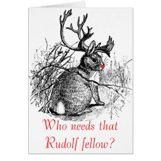 Behöver vem den Rudolf kamrat? kort