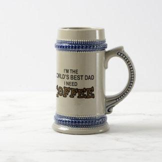 Behovskaffe - världsmästarepappa kaffe koppar