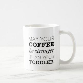 Behövt starkt kaffe kaffemugg