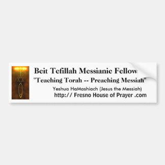 Beit Tefillah bildekal - Jesus messiahen