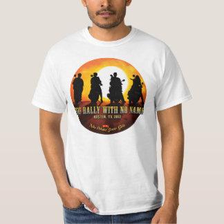 """(bekläda endast), NOSG """"samla med ingen känd"""" T-shirts"""