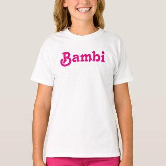 Bekläda flickor Bambi Tee