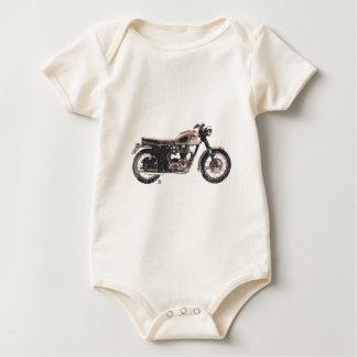 Bekläda för motorcykel för bekymrad vintage creeper
