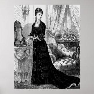 Bekläda för Victorian Poster
