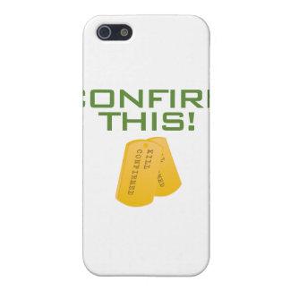 Bekräfta detta! iPhone 5 fodral