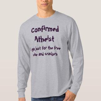 Bekräftad ateist tee