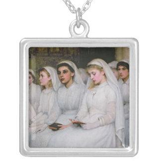 Bekräftelse Silverpläterat Halsband