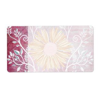 Bekymrad blom- chic för härlig daisyblomma fraktsedel