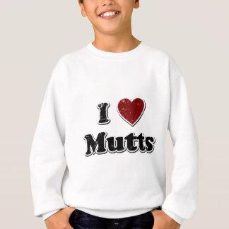 Bekymrad design för I-hjärtabyrackor Tshirts