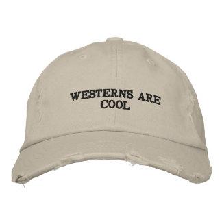 Bekymrad hatt med ord på honom broderad keps