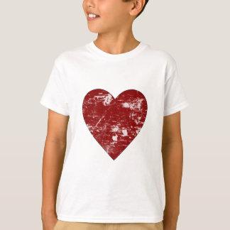 Bekymrad hjärta t-shirts