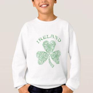 Bekymrad irländsk Shamrock T Shirts