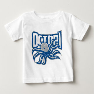 Bekymrad logotyp för Octopi Tee Shirt