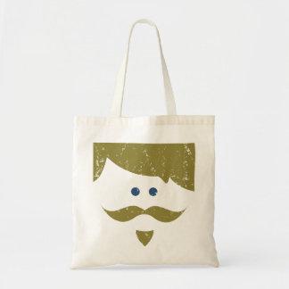 bekymrad moustache - tygkasse