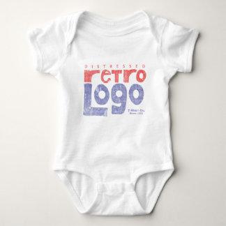 Bekymrad Retro logotyp T Shirts