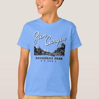 Bekymrad skjorta för Zion kanjonnationalpark Tee Shirt