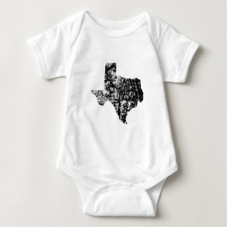 Bekymrad Texas bebisbodysuit T-shirt