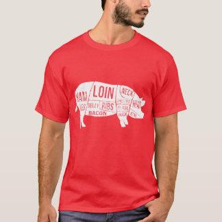 Bekymrade grisdelar och snitt t shirts