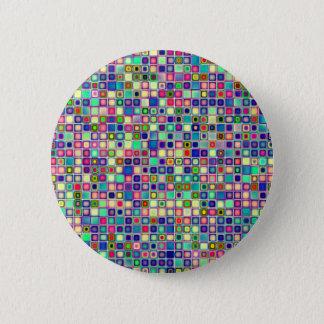 """Bekymrade mångfärgade """"gelékarameller belägger med standard knapp rund 5.7 cm"""