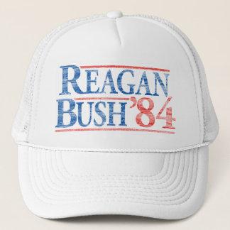 Bekymrade Reagan Bush 'hatt för 84 kampanj Keps