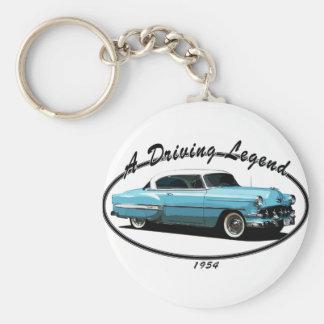 Bel Air blått 1954 Nyckelring